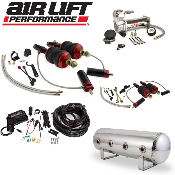 AIR LIFT Performance Complete Air Ride Suspension Kit - Audi R8