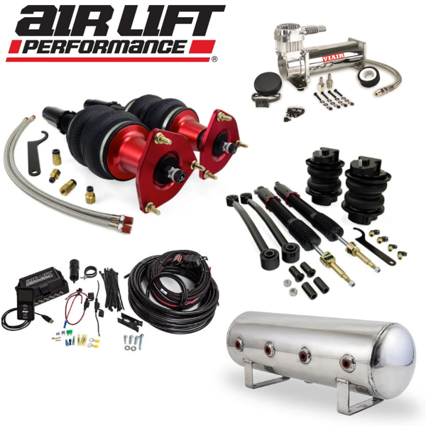 AIR LIFT Performance Complete Air Ride Suspension Kit - B9 A4 - A5 - S4 - S5 - RS4 - RS5