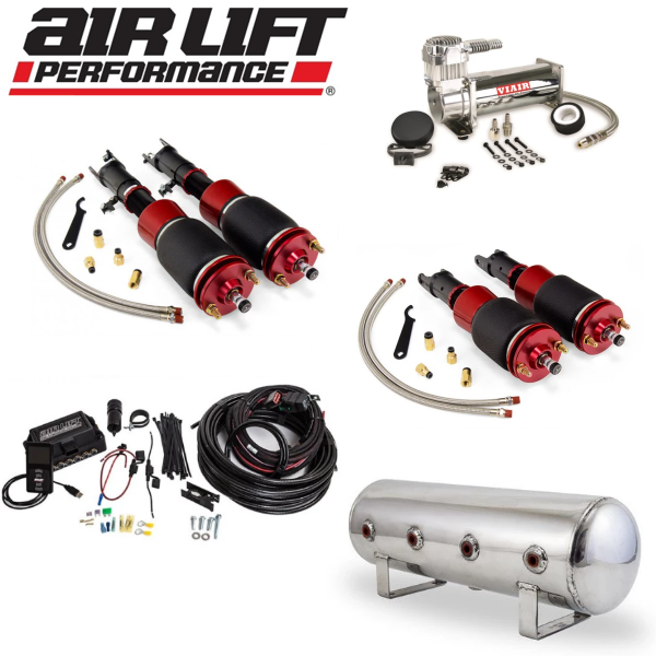 AIR LIFT Performance Complete Air Ride Suspension Kit - Honda S2000