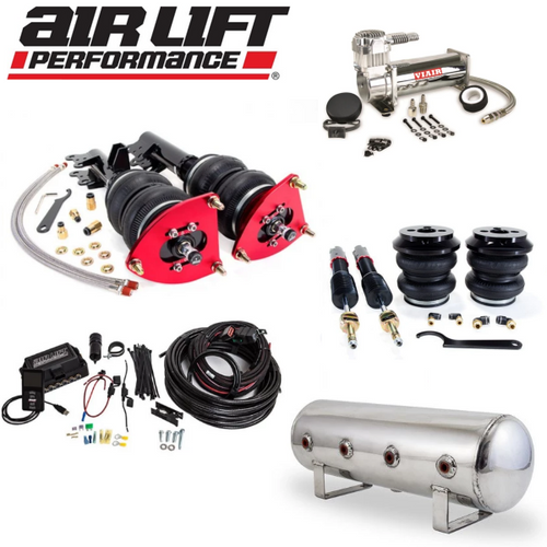 AIR LIFT Performance Complete Air Ride Suspension Kit - Mercedes A-Class - B-Class - CLA - GLA - Infiniti QX30