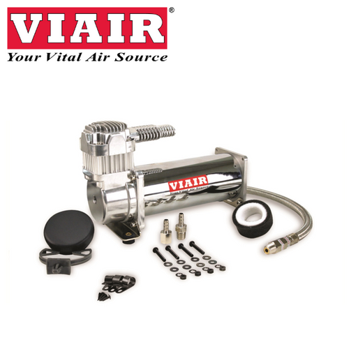 VIAIR 444C Air Ride Air Compressor Chrome 16444