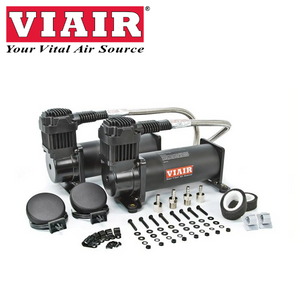 VIAIR 444C Dual Air Ride Air Compressor Black 23444B