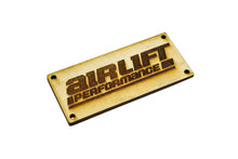 Load image into Gallery viewer, Classy House Wood Manifold Plate for AirLift Performance 3H - 3P Manifolds