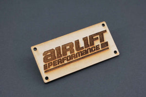 Classy House Wood Manifold Plate for AirLift Performance 3H - 3P Manifolds