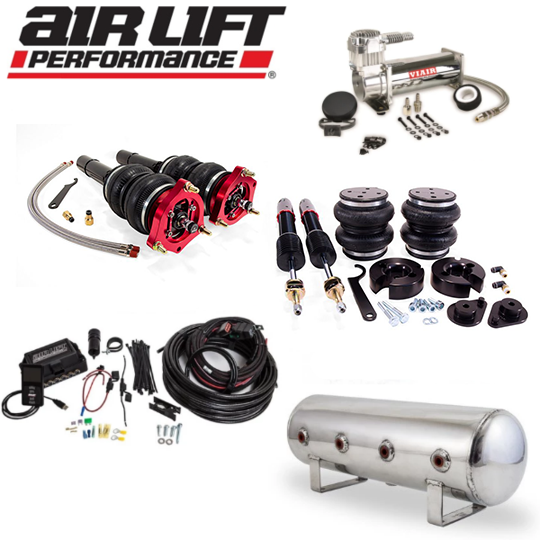 AIR LIFT Performance Complete Air Ride Suspension Kit - Honda Accord [10th Gen] THREADED MANIFOLD