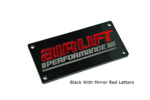 Classy House Multi-Color Manifold Plate for AirLift Performance 3H - 3P Manifolds