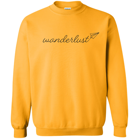Wanderlust Crewneck Sweatshirt - Pen & Passport