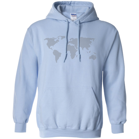 World Map Hoodie - Pen & Passport