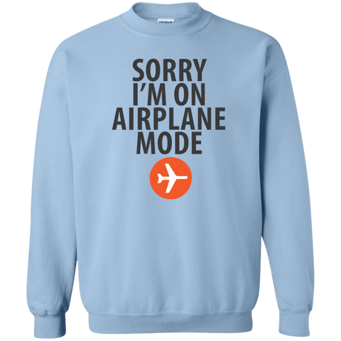 Airplane Mode Crewneck Sweatshirt - Pen & Passport
