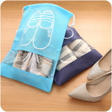 Dust Proof Travel Shoe Bag - Pen & Passport