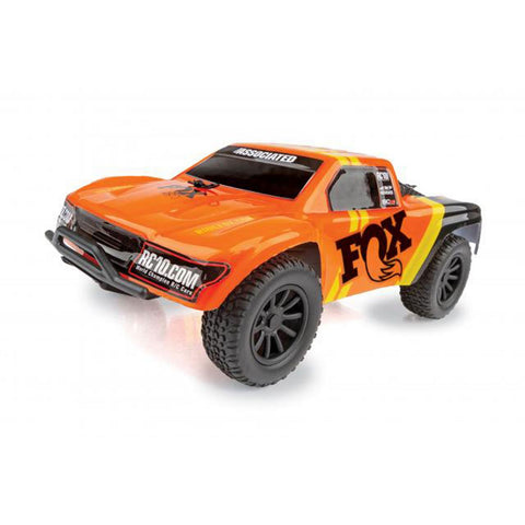 Team Associated 1/28 SC28 2WD SCT Brushed RTR, Fox Edition