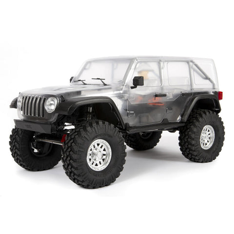 Axial 1/10 SCX10 III Jeep JLU Wrangler with Portals 4WD Kit