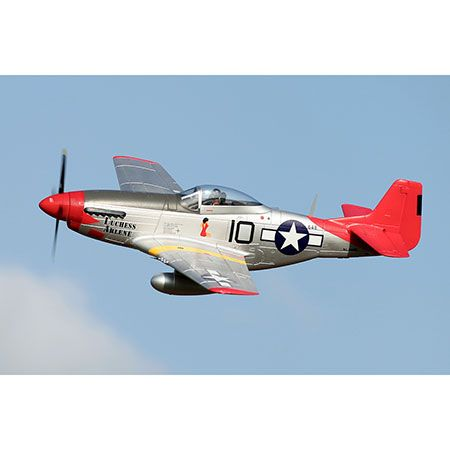 FMS P-51D Red Tail V8 PNP, 1450mm