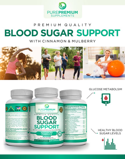 Premium Blood Sugar Support Supplement