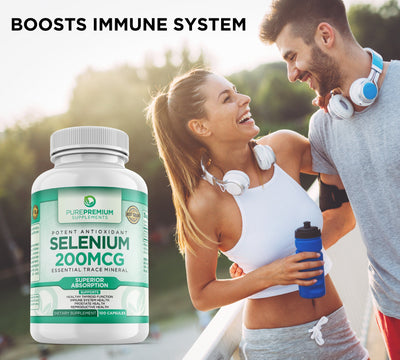 Premium Selenium Supplement