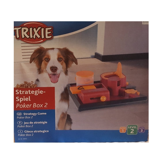 Trixie Activity Poker Box 2