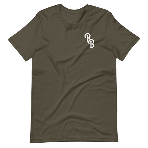 BB Monogram Short-Sleeve Unisex T-Shirt