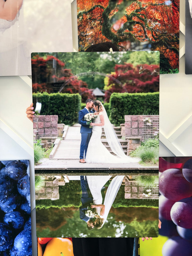 Cherish Your Wedding Photos For A Lifetime With Aluminum Prints
