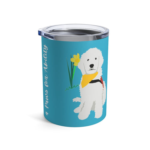 Print on Demand - Dog Mom Doodle 10oz Tumbler