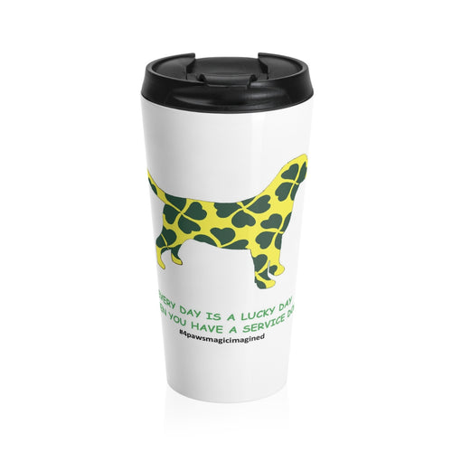 Print on Demand - Lucky SD Lab Stainless Steel Travel Mug