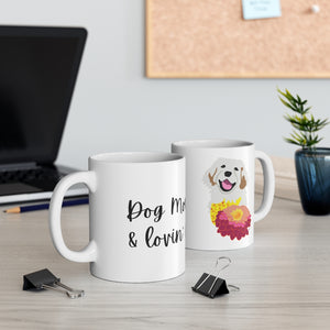 Print on Demand - Dog Mom Golden Mug