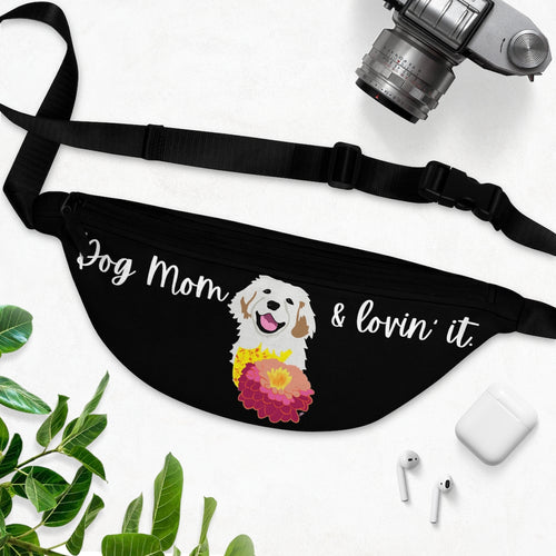 Print on Demand - Dog Mom Golden Fanny Pack