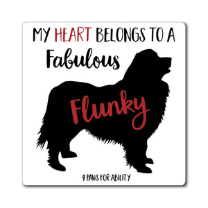 Print on Demand - Newf Fabulous Flunky Magnet