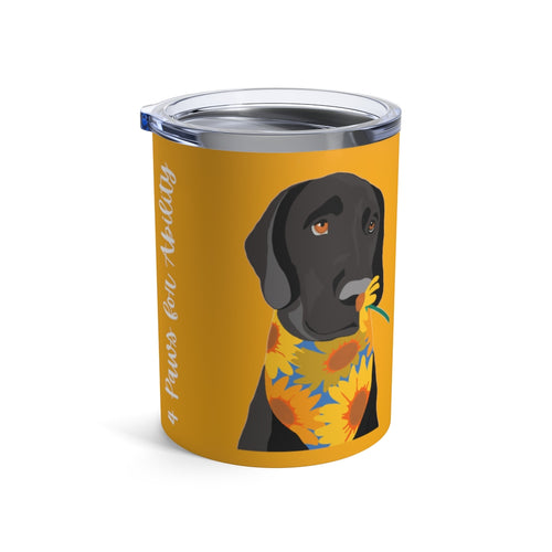 Print on Demand - Dog Mom Black Lab 10oz Tumbler