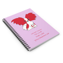 Print on Demand - Dream Pap Spiral Notebook - Ruled Line