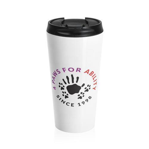 Print on Demand - 4 Paws Travel Mug