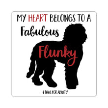 Print on Demand - Fabulous Flunky Doodle Sticker