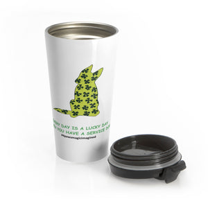 Print on Demand - Lucky SD GSD Stainless Steel Travel Mug