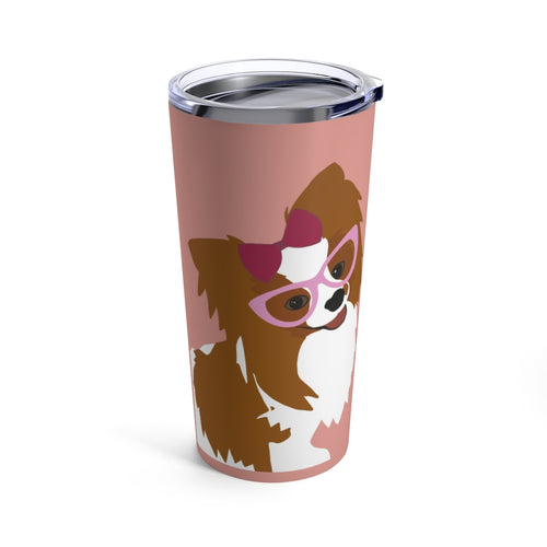 Print on Demand -  Pink for Piper Tumbler 20oz