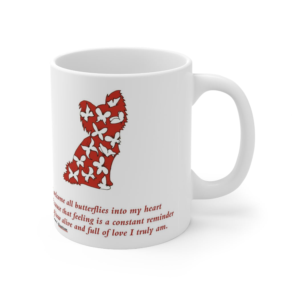Print on Demand - Butterfly Quote Pap Mug