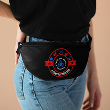 Print on Demand - 4 Paws for Veterans Red, White, and Blue Fanny Pack