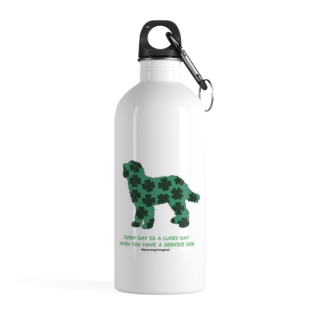 Print on Demand - Lucky SD DOODLE Stainless Steel Water Bottle