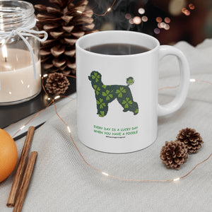 Print on Demand - Lucky Poodle Mug