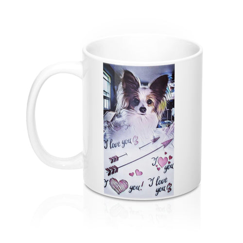 Print on Demand - Papillon Love Mug