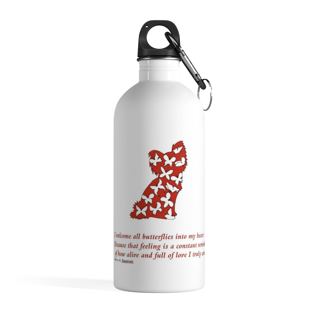 Print on Demand - Pap Stainless Steel Water Bottle
