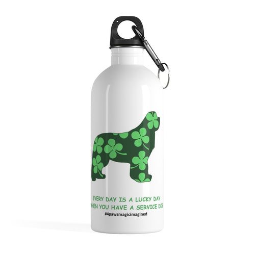 Print on Demand - SD Newf Stainless Steel Water Bottle