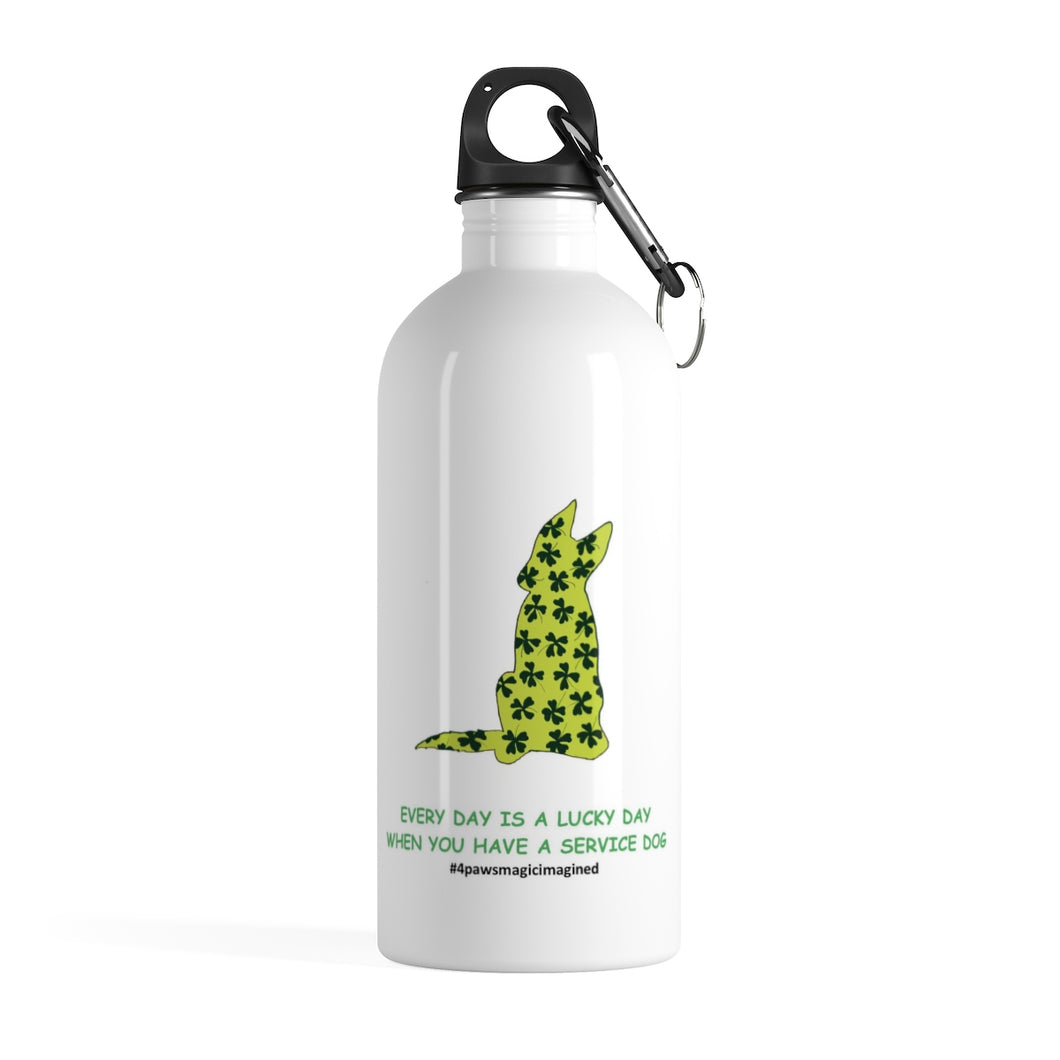 Lucky SD GSD Stainless Steel Water Bottle