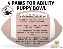 Donation - Puppy Bowl