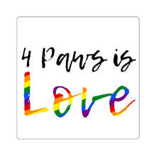 Print on Demand - 4 Paws is Love Sticker