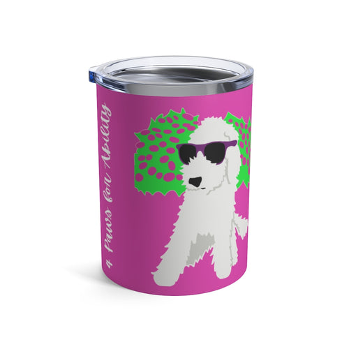 Print on Demand - Dog Mom Funky Doodle 10oz Tumbler