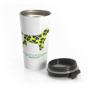 Lucky Lab Stainless Steel Travel Mug