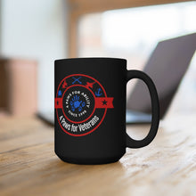 Print on Demand - 4 Paws for Veterans Black Mug