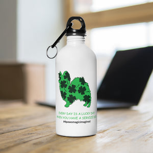 Print on Demand - Lucky SD PAP Stainless Steel Water Bottle