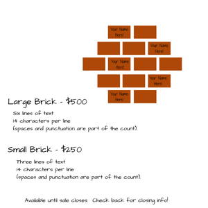 Donation - Puppy House Brick Sponsor!