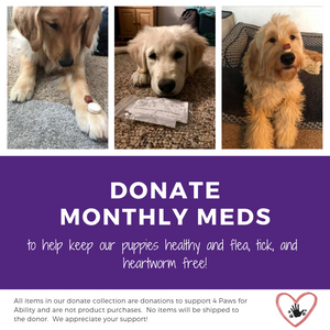 Donation - Monthly Meds