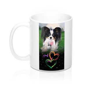 Print on Demand - Papillon Yeti Mug